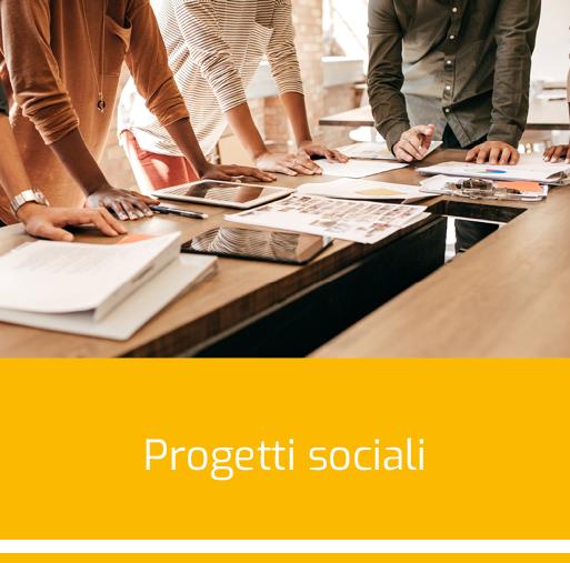 Progetti sociali