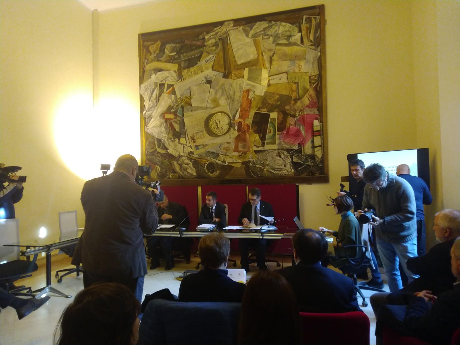 Conferenza stampa Insieme per il lavoro 29 gennaio 2020