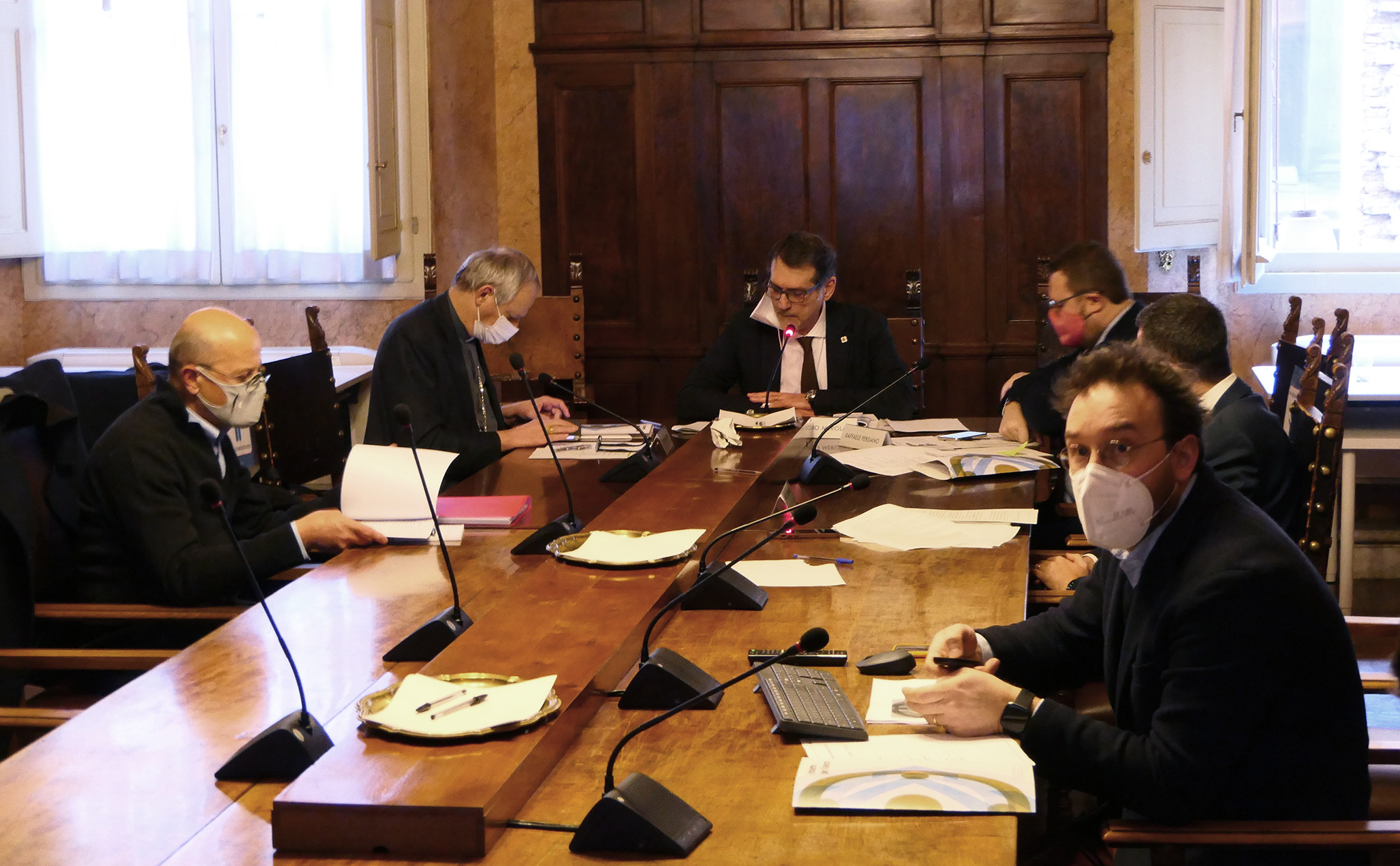 Alcune immagini dal Tavolo di Coordinamento
