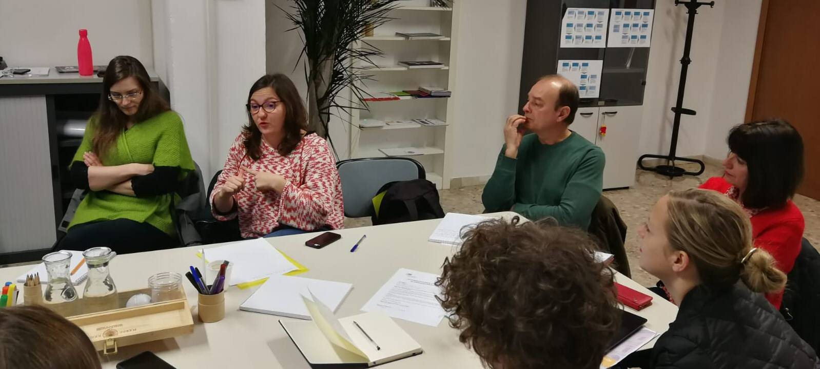 La Fédération des acteurs de la solidarité in visita negli spazi di Insieme per il lavoro