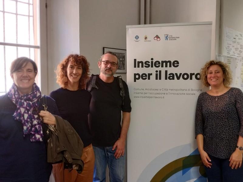 Tecnici da Tarragona per conoscere Insieme per il lavoro