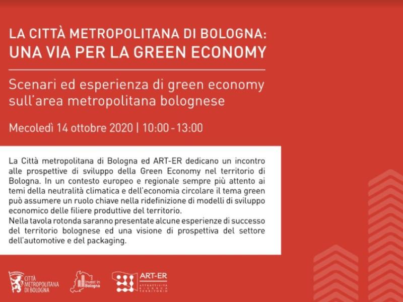 Città metropolitana di Bologna, una via per la Green Economy
